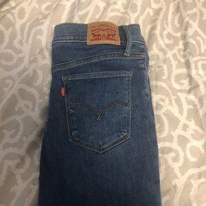 Medium wash Levi jeans